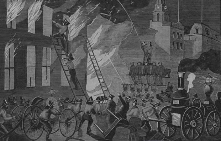 تاریخچه آتش نشانی