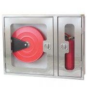 جعبه آتش نشانی با درب طلقی