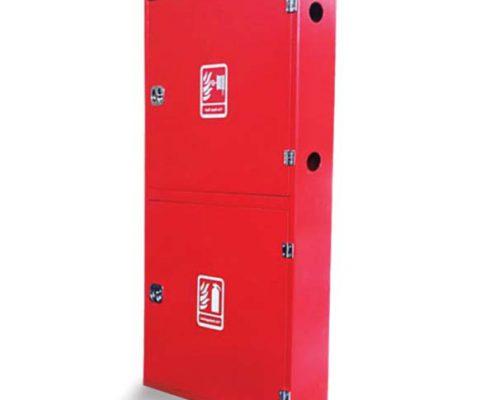 جعبه آتش نشانی دو طبقه آهنی