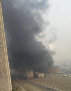 مهار آتشسوزی در ساختمان رزمال