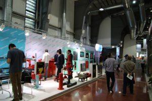 حضور آدر توان نامی در نمایشگاه تاسیسات