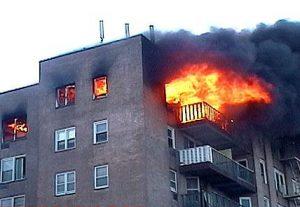 انواع آتش سوزی