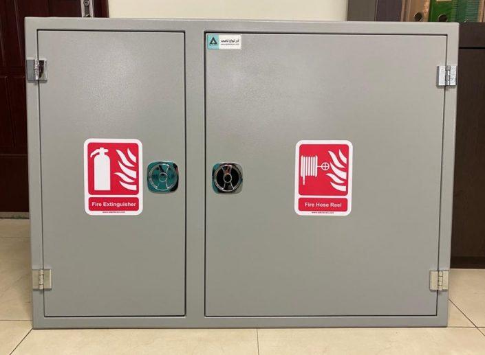جعبه آتش نشانی دو قلو آهنی مدل ATC5